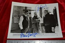 ROBERT LOGGIA BRIAN DENNEHY Autographed signed photo obtained IN PERSON