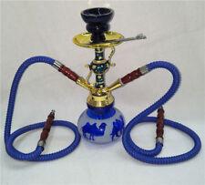 Hookah Single Hose Glass Water Pipe Vase Tobacco Shisha Nargile Smoking Bong Set
