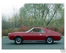 1968 AMC AMX, RED, Refrigerator Magnet, 40 MIL