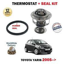 Pour toyota yaris 1.0 vvti 12V 2005 -- > thermostat kit avec joint en caoutchouc joint