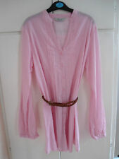 Ladies shirt type top with belt size 10 - BNWOT