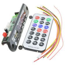 Wireless Bluetooth 12V MP3 WMA Decoder Board Audio Module USB TF Radio Car B5Y2