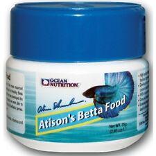 75g ATISON'S BETTA FOOD Ocean Nutrition Pellets Aquarium Tropical Fish Food