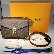 Louis Vuitton Pochette Metis Monogram Canvas LV Handbag M44875