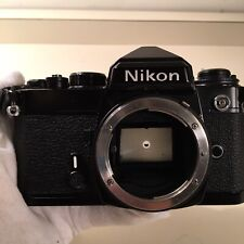 New listing Tested w/ Battery Black Nikon Fe Slr Film Camera Body Only, In Ex Working Condit