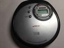 Koss S5406-2 Portable CD Player MP3 Silver Tested Working