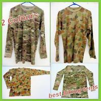 New Military Army Long Sleeve T-Shirt Men Women Bdu Tactical Cotton Top Clothing
