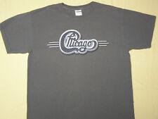 Chicago Concert Tour T-Shirt 67 A Lifetime of Classic Rock Gray size M CTA Band