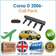 For Vauxhall Opel Corsa D + Van 1.2 1.4 2006- Ignition Coil Pack NEW OE Quality