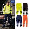 Yoko Hi-Vis Men's Cargo Trousers HV018T-3M Safety Wear Polycotton Pants