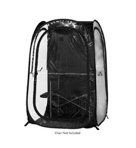 Under the Weather InstaPod Stay Warm & Dry Weather Pod, Black, XL Brand New!