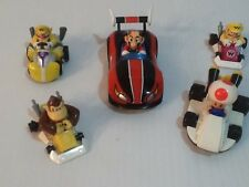 Mario Kart Cars Lot Of 5 All Working Fast Shipping