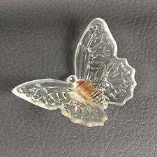 #14 Honeymoon Clear KATIE BUTTERFLY Boyd's Crystal Art Glass 2nd Series 10-27-06
