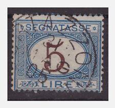 REGNO 1870 - SEGNATASSE  Lire 5   usato