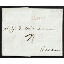 PR011 - 1808 Prefilatelica da Napoli a Penne (Pescara) con testo