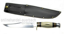 SHEFFIELD KNIVES BOWIE KNIFE HIRSCHHORN  Messer Outdoor Survival
