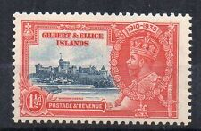 More details for gilbert and ellice islands 1935 1d silver jubilee