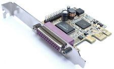 PCIe x1 Adapter PCI Express zu Parallel Schnittstelle Karte + zweiter LPT Port