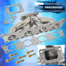 Vw / Audi Golf Jetta TT A4 1.8T T3 Flange Stainless Steel Turbo Manifold