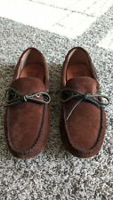 FRYE Men's Size 7.5 Tan Suede Leather Loafer Driver Moccasin SHOES