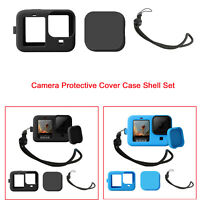 Silicone Camera Sleeve Lens Cap Protective Cover Frame Shell for GoPro Hero 9 BA