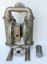 """WILDEN PUMP 8 BOLTED COMPLETE STAINLESS STEEL SS DOUBLE DIAPHRAGM PUMP 2"""""""