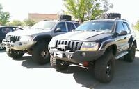 KIT PARAFANGHI JEEP GRAND CHEROKEE WJ ( 1998 - 2004  )