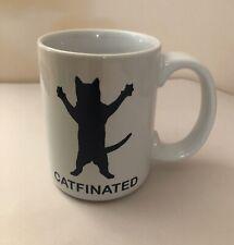 "Cat ""Catfinated"" Coffee Mug"