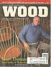 Wood Magazine August 1998 Thomas Moser Shaker Furniture Deck Railing B H & G