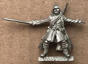 "GW Citadel 00s Lord Of The Rings metal "" Aragorn "" (A)"