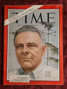 TIME magazine May 15 1964 5/15/64 HENRY CABOT LODGE