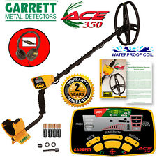 "Garrett ACE 350 with 8.5"" x 11"" PROformance DD Submersible Coil and Headphones"