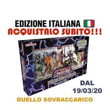 YU-GI-OH! DUELLO SOVRACCARICO  ITALIANO DUEL OVERLOAD BOX KONAMI DAL 19/03/20