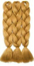 24 inch Blonde Kanekalon Jumbo Braiding Hair Extensions for Box Braids