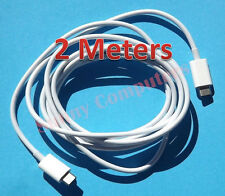 New 2M USB-C USB 3.1 Type-C M/M Cable Data Sync Charge Cord For Apple Macbook PC
