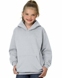 2 Hanes Youth ComfortBlend EcoSmart Pullover Hoodies P473