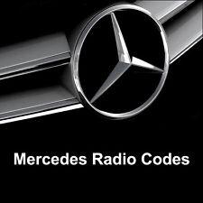 Radio Code Alpine Mercedes Audio 10 MF2910 - AL2910 Car Unlock Key Codes