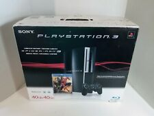 Sony PlayStation 3 Spiderman 3 Launch Edition 40GB Piano Black Console PS398006