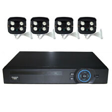 WM 4CH POE 3.6MM 1080P IP Camera Home Security System POE NVR Kit CCTV Outdoor