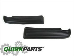 Dodge Ram 1500 2500 3500 REAR BUMPER STEP PAD LEFT & RIGHT SIDE OEM NEW MOPAR