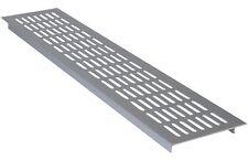 Aluminium Air Vent Grill - Kitchen, Plinth, Worktop, Ventilation Covers-480x80mm