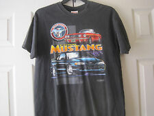 Ford Mustang Mens Large T-Shirt~Size L~LBDWN