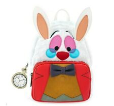 New ListingLoungefly X Disney Alice In Wonderland White Rabbit Cosplay Mini Backpack