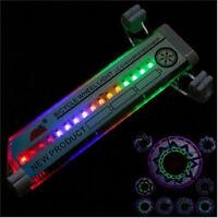Cycling Bike Bicycle Tire Valve 16 LED Flash 30 kinds Flash Spoke Wheel Light