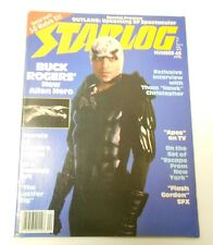 1981 STARLOG #45 BUCK ROGERS Escape From New York FVF with 3-D Module Kit