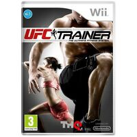 UFC Personal Trainer Game - Wii - Good - 1st Class Delivery
