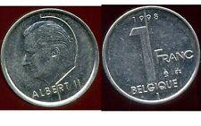 BELGIQUE 1 franc 1998    ( belgique )