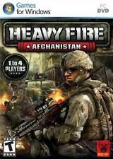 Heavy Fire: Afghanistan - War Combat Mountain Warfare Air Assault Guns PC NEW