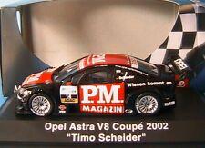 OPEL ASTRA V8 COUPE #14 DTM 2002 TIMO SCHEIDER SCHUCO 04802 1/43 PM MAGAZIN