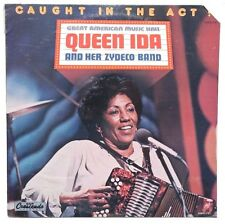 SEALED QUEEN IDA AND HER SYDECO BAND: Caught In The Act LP GNP CRESCENDO US 1985